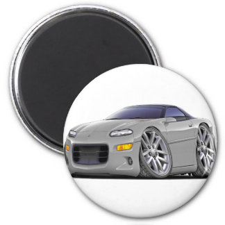 1998-2003 Camaro Silver Car Magnet