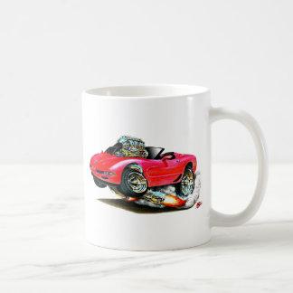 1998-2004 Corvette Red Convertible Coffee Mug