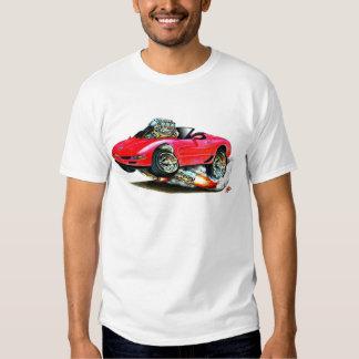 1998-2004 Corvette Red Convertible Tee Shirt