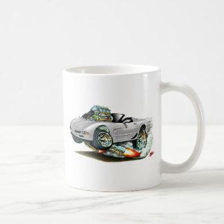 1998-2004 Corvette Silver Convertible Coffee Mug