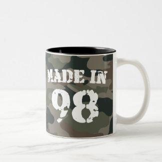 1998 Made In 98 Two-Tone Coffee Mug