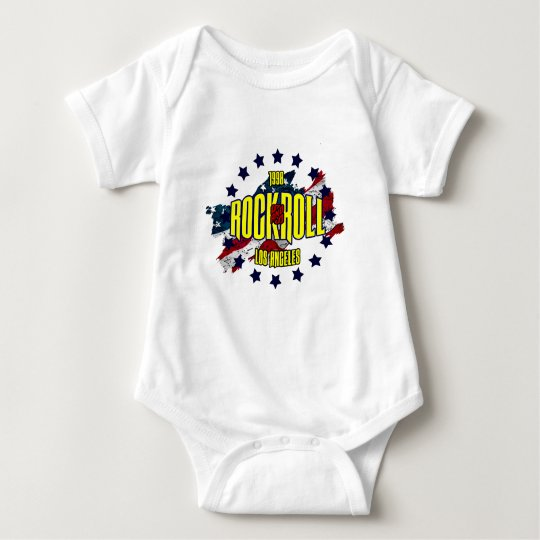 1998 - Rock And Roll.png Baby Bodysuit
