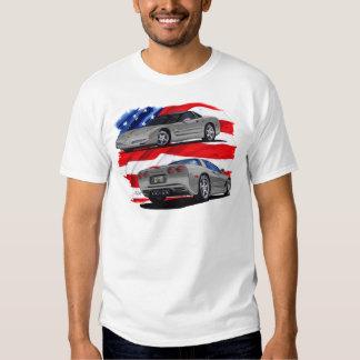 1999-04 Corvette Grey Car T Shirt