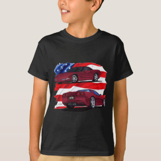 1999-04 Corvette Maroon Car T-Shirt