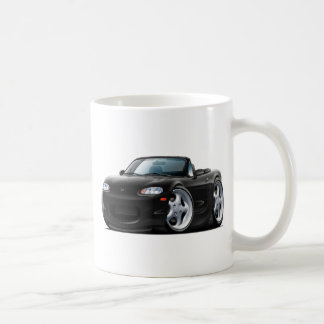 1999-05 Miata Black Car Coffee Mug