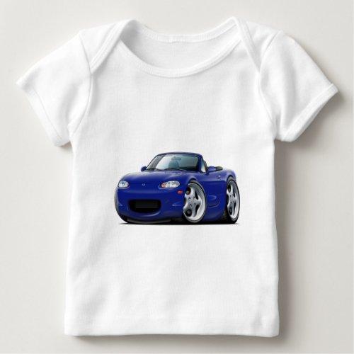 1999_05 Miata Dark Blue Car Baby T_Shirt