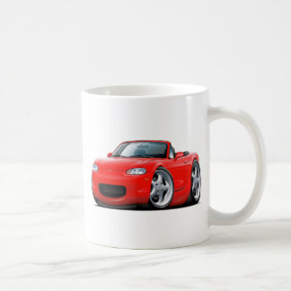 1999-05 Miata Red Car Coffee Mug