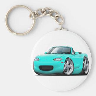 1999-05 Miata Turquoise Car Keychain