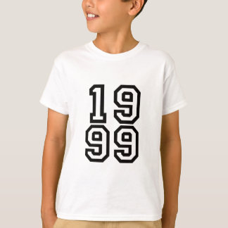 1999 birth year tshirt shirt or hat
