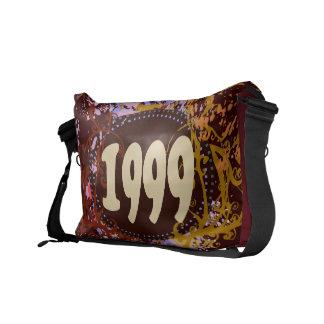 1999 - Colorful Vintage retro - Messenger Bag