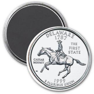 1999 Delaware State Quarter magnet
