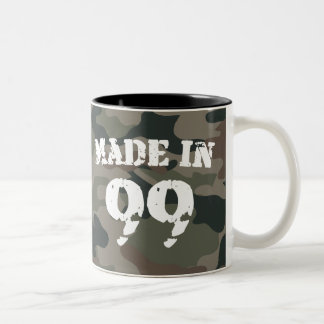 1999 Made In 99 Two-Tone Coffee Mug