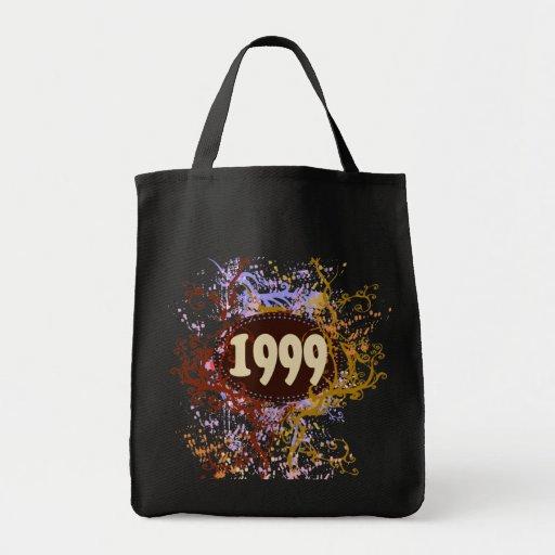 1999 -  Pattern Vintage retro - Tote Bags
