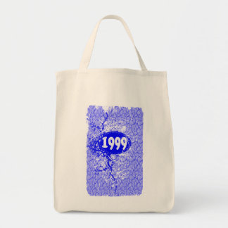 1999 -  Purple  Crack Vintage retro - Tote Bags