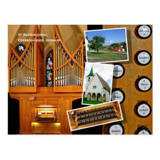 1999 Vier organ, Oberboihingen Postcard