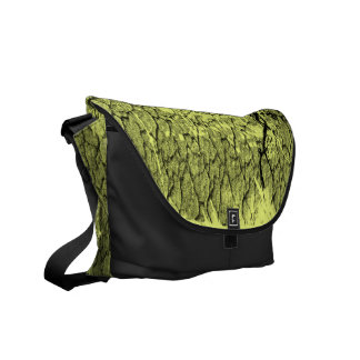 1999 - Yellow Crack Vintage retro - Messenger Bag