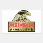 1999 Yuba City Rectangular Sticker