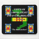 199o Inf ligeros Vietnam Mousepad 2/b Tapetes De Ratones