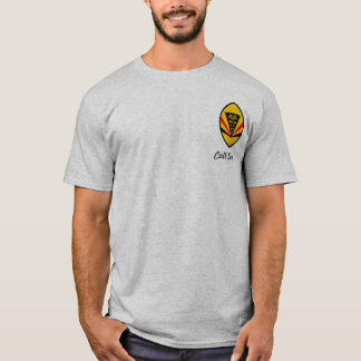 199th FS w/Classic High Tech Eagle - Light colored T-Shirt