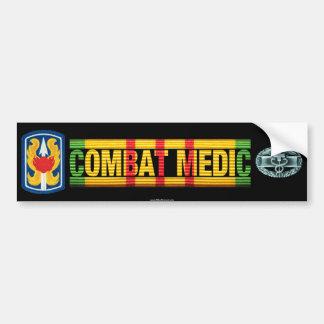 199th LIB Vietnam COMBAT MEDIC Sticker Car Bumper Sticker