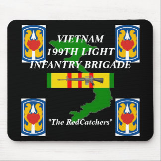 199th Light Inf Vietnam Mousepad 2/b