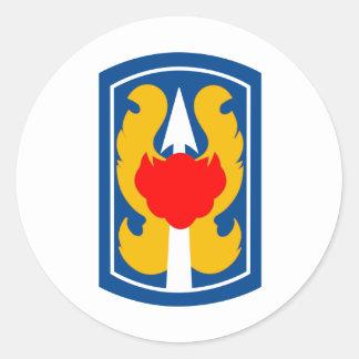 199th Light Infantry Brigade Classic Round Sticker