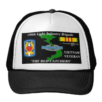 """199th Light Infantry """"The Red Catchers""""Ball Caps Trucker Hat"""