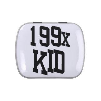 199x niño - cita del niño de los años noventa frascos de caramelos