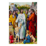 19:13 de Matthew - 15 pequeños niños vienen a Póster