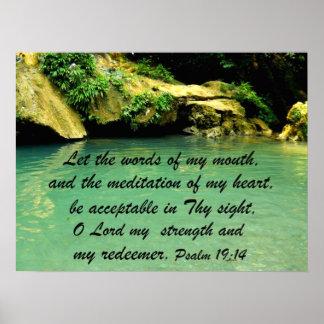 19:14 del salmo impresiones
