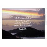 19:1 del salmo felicitación