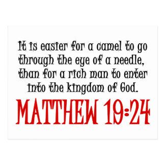 19:24 de Matthew Postal