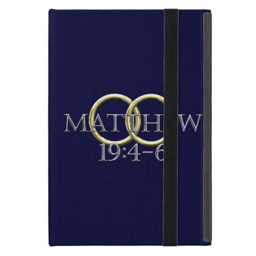 19:4 de Matthew - 6 iPad Mini Coberturas