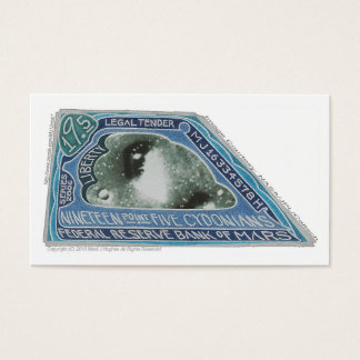 19.5 CYDONIANS Notes-Bank oF Mars-(+N-) X 100 Business Card