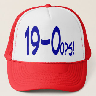 19 and 0ops Cap