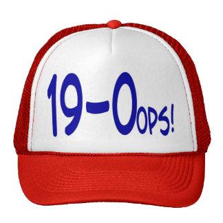19 and 0ops Cap Trucker Hat