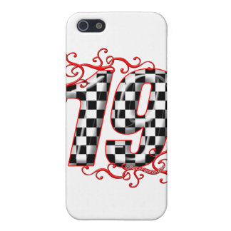 19 auto racing number cover for iPhone SE/5/5s