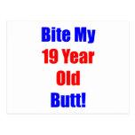19 Bite My Butt Postcard