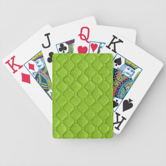 19 Color Choices Quilted Look Bicycle Playing Cards