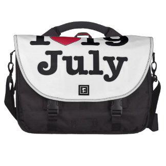 19 de julio mi cumpleaños del día bolsas de portatil
