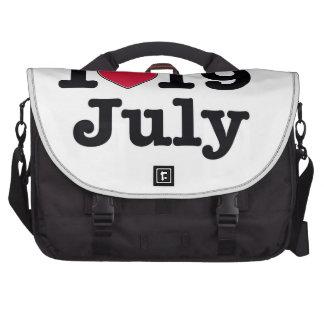 19 de julio mi día de cumpleaños bolsa de ordenador