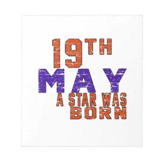 19 de mayo una estrella nació bloc