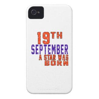 19 de septiembre una estrella nació iPhone 4 protectores
