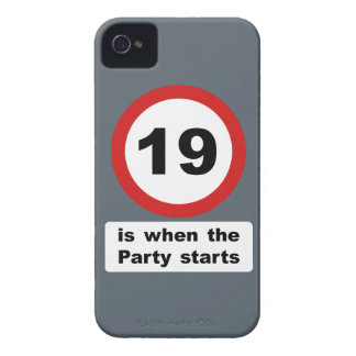 19 is when the Party Starts iPhone 4 Cover