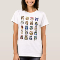 19 Owls and 1Cat T-Shirt
