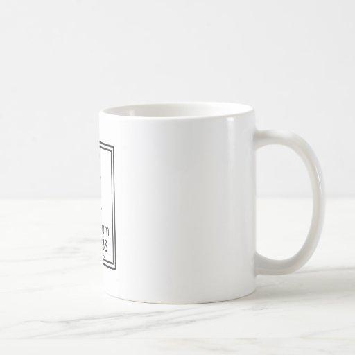 19 Potassium Classic White Coffee Mug