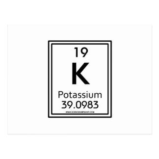 19 Potassium Postcard