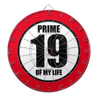 19 - prime of my life dart boards