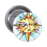 19 - Sun Pinback Button