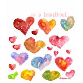 19 Valentine Hearts T-shirt/Apparel shirt